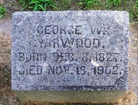 YARWOOD, GEORGE W. - Winneshiek County, Iowa | GEORGE W. YARWOOD