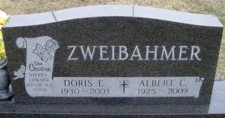 ZWEIBAHMER, DORIS E. - Winneshiek County, Iowa   DORIS E. ZWEIBAHMER
