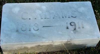 ADAMS, C. - Woodbury County, Iowa | C. ADAMS
