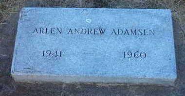 ANDREW ADAMSEN, ARLEN - Woodbury County, Iowa | ARLEN ANDREW ADAMSEN