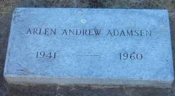 ADAMSEN, ARLEN - Woodbury County, Iowa   ARLEN ADAMSEN