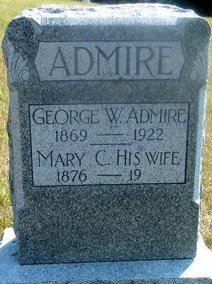 ADMIRE, GEORGE W. - Woodbury County, Iowa | GEORGE W. ADMIRE