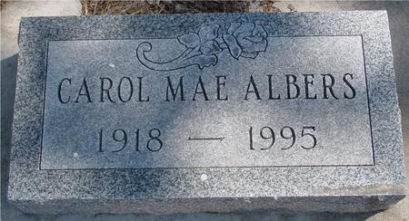 ALBERS, CAROL MAE - Woodbury County, Iowa | CAROL MAE ALBERS