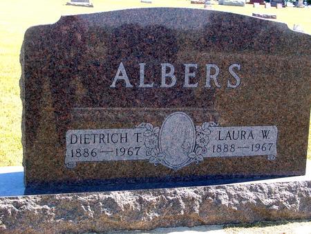 ALBERS, DIETRICH & LAURA - Woodbury County, Iowa | DIETRICH & LAURA ALBERS