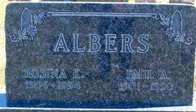 ALBERS, EMIL & ROSINA - Woodbury County, Iowa | EMIL & ROSINA ALBERS