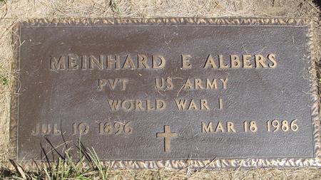 ALBERS, MEINHARD E. - Woodbury County, Iowa | MEINHARD E. ALBERS