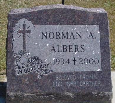 ALBERS, NORMAN A. - Woodbury County, Iowa | NORMAN A. ALBERS
