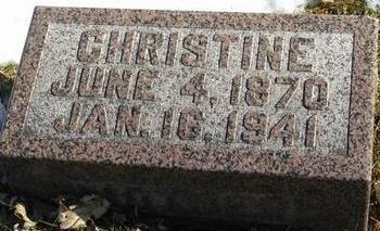 ANDERSEN, CHRISTINE - Woodbury County, Iowa | CHRISTINE ANDERSEN