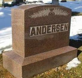 ANDERSEN, MONUMENT - Woodbury County, Iowa | MONUMENT ANDERSEN