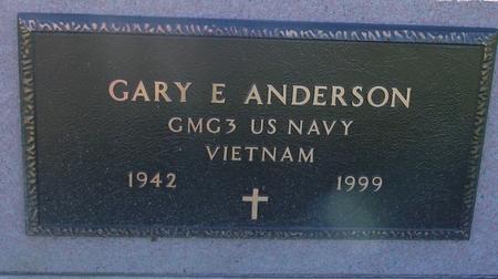 ANDERSON, GARY E. - Woodbury County, Iowa   GARY E. ANDERSON
