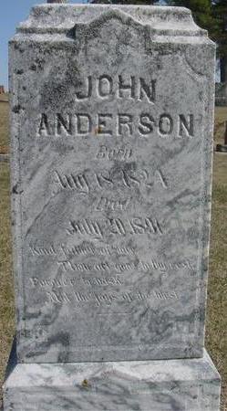 ANDERSON, JOHN - Woodbury County, Iowa | JOHN ANDERSON