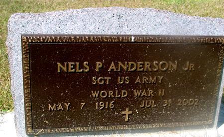 ANDERSON, NELS P.  JR. - Woodbury County, Iowa | NELS P.  JR. ANDERSON