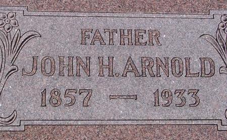 ARNOLD, JOHN H. - Woodbury County, Iowa   JOHN H. ARNOLD
