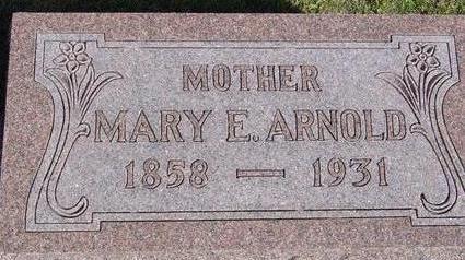 ARNOLD, MARY E. - Woodbury County, Iowa | MARY E. ARNOLD