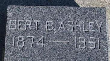 ASHLEY, BERT B. - Woodbury County, Iowa | BERT B. ASHLEY