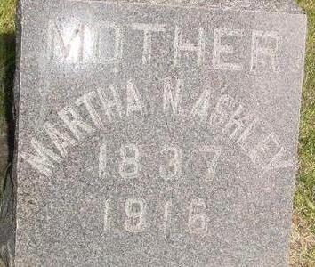 ASHLEY, MARTHA - Woodbury County, Iowa   MARTHA ASHLEY