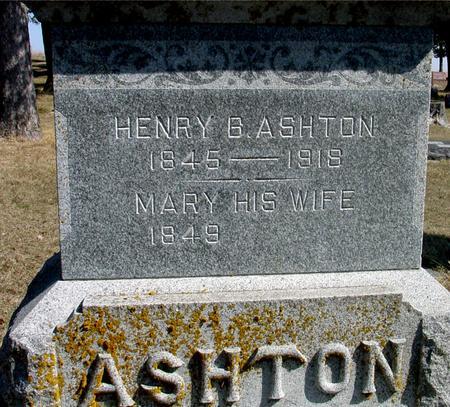 ASHTON, HENRY & MARY - Woodbury County, Iowa | HENRY & MARY ASHTON