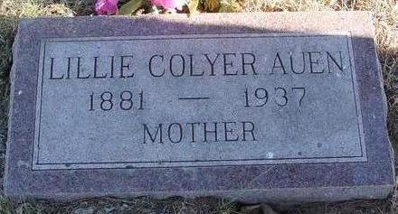 AUEN, LILLIE - Woodbury County, Iowa | LILLIE AUEN