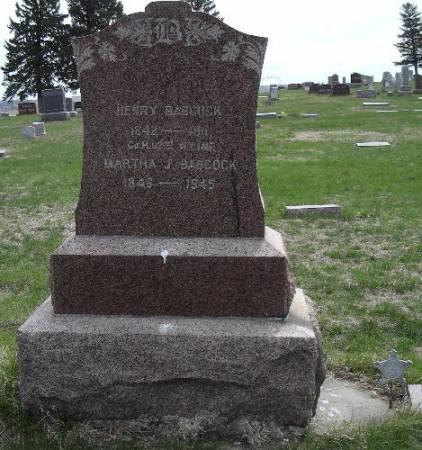 BABCOCK, MARTHA J. - Woodbury County, Iowa   MARTHA J. BABCOCK