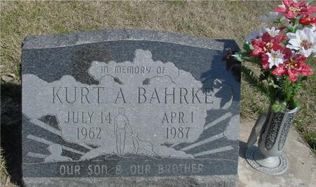 BAHRKE, KURT A. - Woodbury County, Iowa | KURT A. BAHRKE