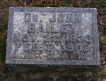 BAILEY, JOHN - Woodbury County, Iowa   JOHN BAILEY