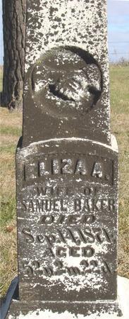 BAKER, ELIZA D. - Woodbury County, Iowa | ELIZA D. BAKER