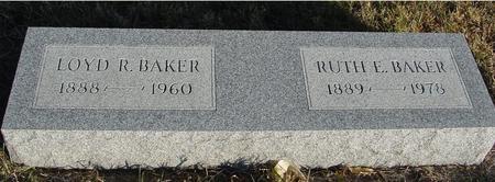 BAKER, LOYD R. & RUTH - Woodbury County, Iowa | LOYD R. & RUTH BAKER