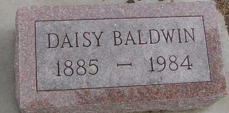 BALDWIN, DAISY - Woodbury County, Iowa | DAISY BALDWIN