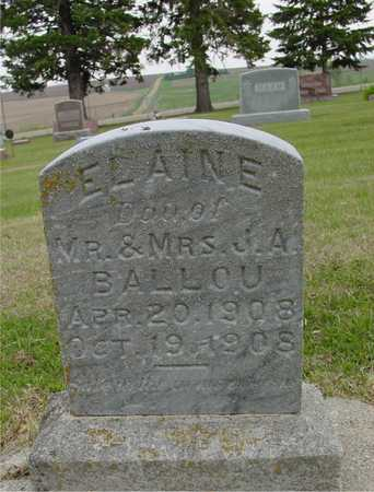 BALLOU, ELAINE - Woodbury County, Iowa | ELAINE BALLOU