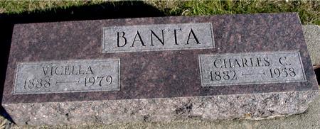 BANTA, CHARLES & VICELLA - Woodbury County, Iowa | CHARLES & VICELLA BANTA