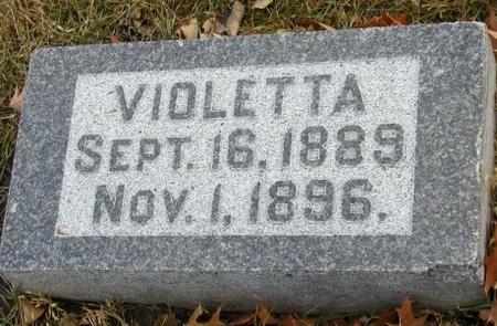 BARRETT, VIOLETTA - Woodbury County, Iowa | VIOLETTA BARRETT