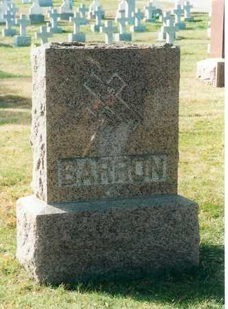BARRON, FAMILY - Woodbury County, Iowa   FAMILY BARRON