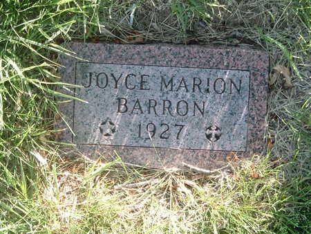 BARRON, JOYCE MARION - Woodbury County, Iowa | JOYCE MARION BARRON