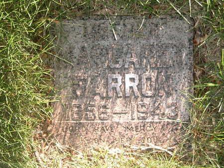BARRON, MARGARET  AGNES - Woodbury County, Iowa   MARGARET  AGNES BARRON