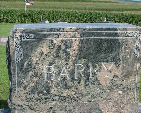 BARRY, FAMILY MARKER - Woodbury County, Iowa | FAMILY MARKER BARRY