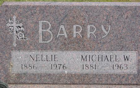 BARRY, MICHAEL W. & NELLIE - Woodbury County, Iowa | MICHAEL W. & NELLIE BARRY