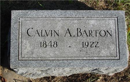 BARTON, CALVIN A. - Woodbury County, Iowa | CALVIN A. BARTON