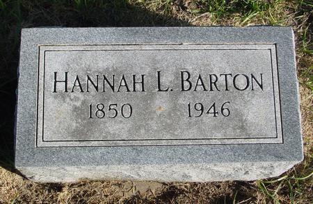 BARTON, HANNAH L. - Woodbury County, Iowa | HANNAH L. BARTON