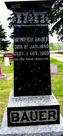 BAUER, HEINRICH - Woodbury County, Iowa | HEINRICH BAUER