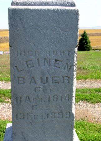 BAUER, LEINEN - Woodbury County, Iowa | LEINEN BAUER