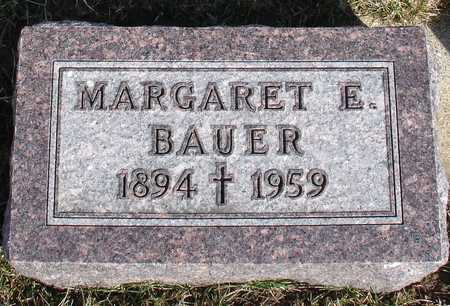 BAUER, MARGARET E. - Woodbury County, Iowa | MARGARET E. BAUER