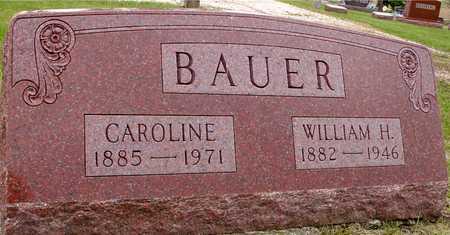 BAUER, WM. H. & CAROLINE - Woodbury County, Iowa   WM. H. & CAROLINE BAUER