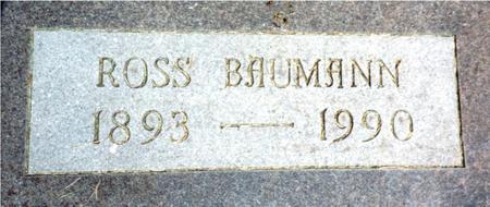 BAUMANN, ROSS - Woodbury County, Iowa   ROSS BAUMANN
