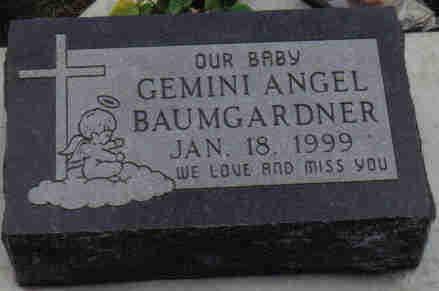 BAUMGARDNER, GEMINI  ANGEL - Woodbury County, Iowa | GEMINI  ANGEL BAUMGARDNER