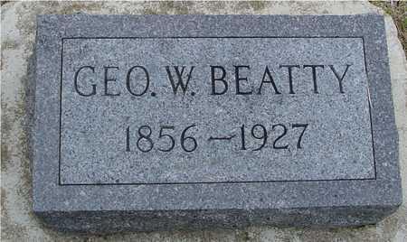 BEATTY, GEORGE W. - Woodbury County, Iowa | GEORGE W. BEATTY