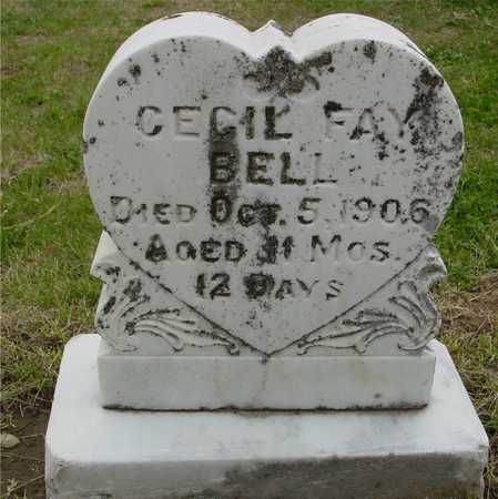 BELL, CECIL FAY - Woodbury County, Iowa   CECIL FAY BELL
