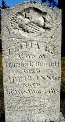 BENNETT, BETSEY A. - Woodbury County, Iowa   BETSEY A. BENNETT