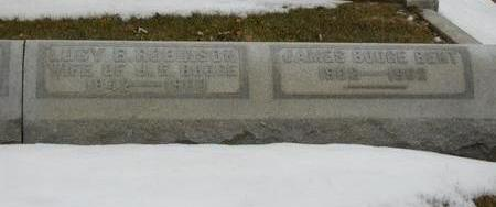 BENT, JAMES BOOGE - Woodbury County, Iowa   JAMES BOOGE BENT