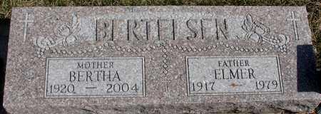 BERTELSEN, ELMER & BERTHA - Woodbury County, Iowa   ELMER & BERTHA BERTELSEN
