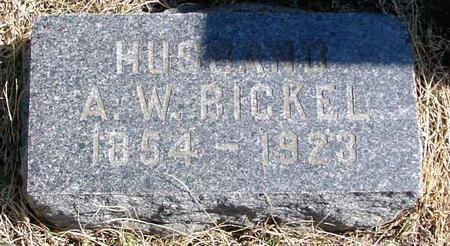 BICKEL, A. W. - Woodbury County, Iowa   A. W. BICKEL